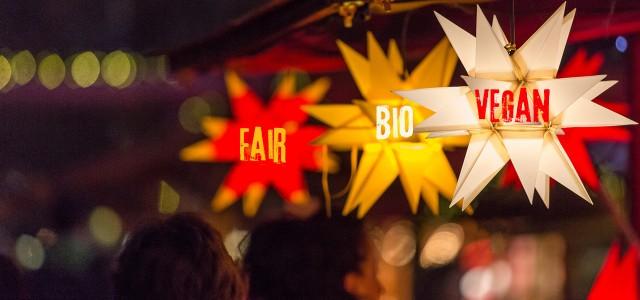 weihnachtsmartk bio fair vegan