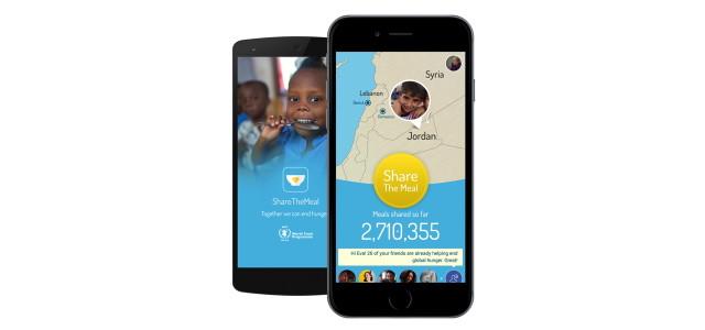 ShareTheMeal App: Spenden via Smartphone