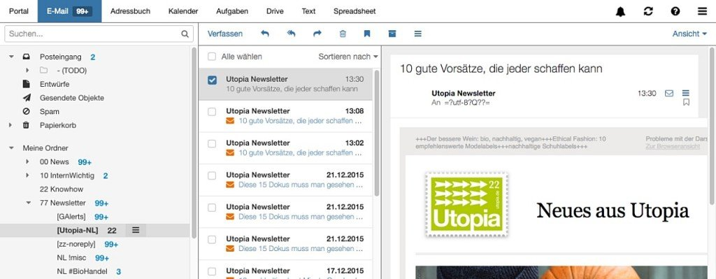 E-Mail-Anbieter: Mailbox.org bietet eine sichere E-Mail-Adresse