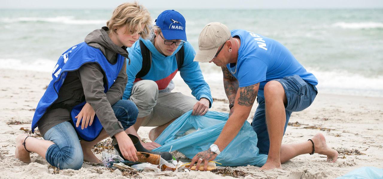 Projekte gegen Plastikmüll: International Coastal Cleanup