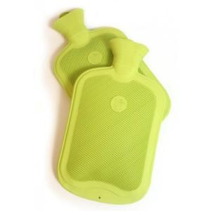 Wärmflasche aus 100% fairem Naturkautschuk, online bei pure and green