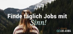 Good Jobs - Jobs mit Sinn