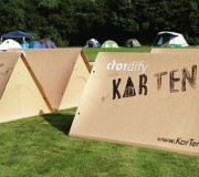 Kartent: Das nachhaltige Festivalzelt