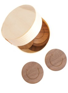 Plastikfrei einkaufen in den besten Onlineshops: Büroklammern aus Holz bei Monomeer