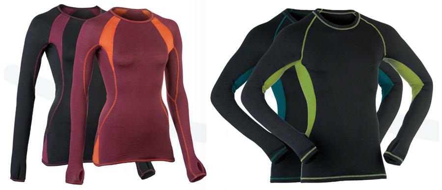 Sportkleidung aus Merinowolle und Seide: Engel Sports