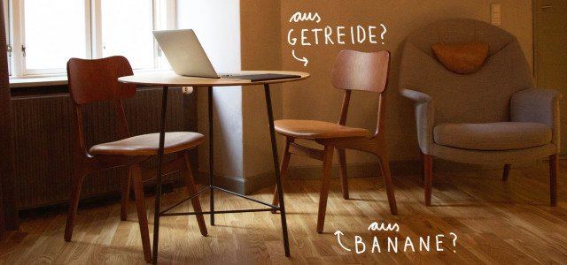 Nachhaltige Wohntrends: Bananenboden und Getreidewand
