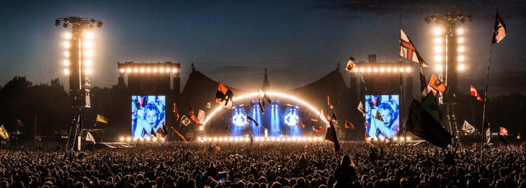 Das Roskilde Festival in Dänemark ist eine Non-Profit Veranstaltung.