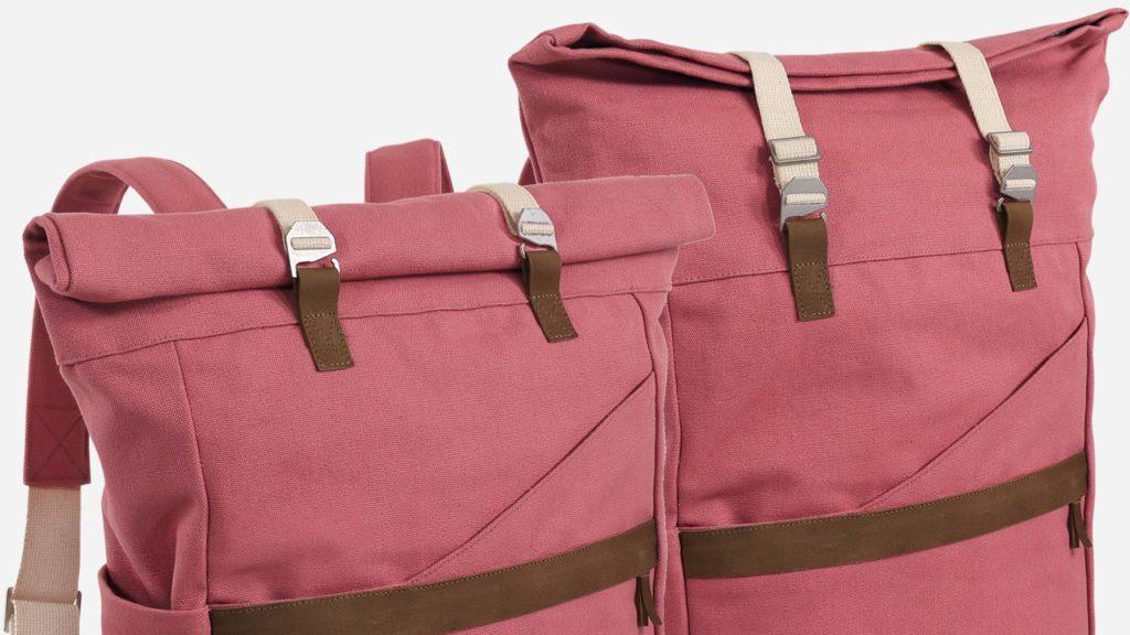 Nachhaltiger Öko-Rucksack mit Fairtrade- und GOTS-Siegel