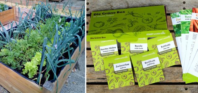 Die Grüne Box: Bio-Saatgut per Post