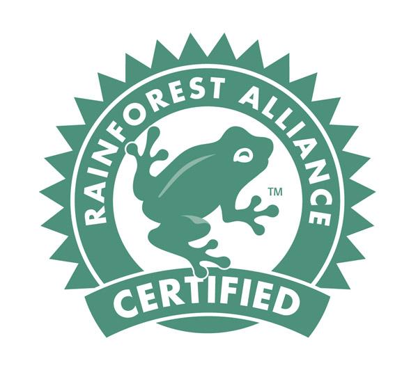 Schwach: Rainforest Aliance