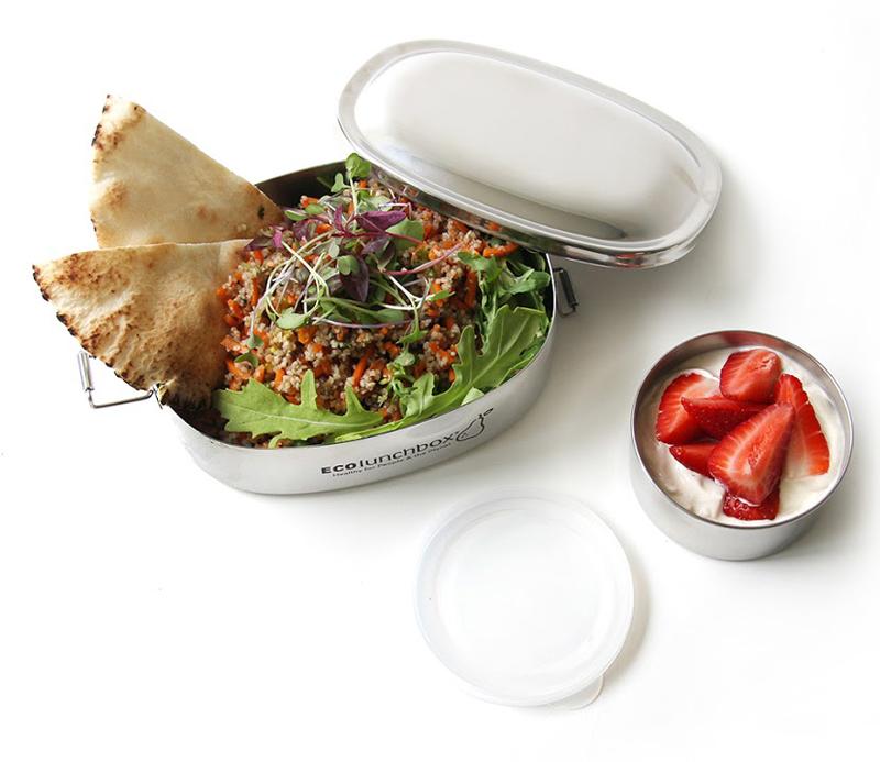 Brotbox: Edelstahl Brotdose von Eco Lunchbox