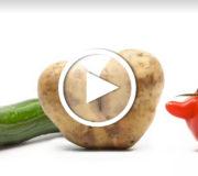 krummes Gemüse bei Penny