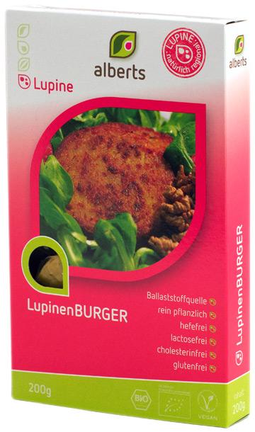 Lupinenburger von alberts