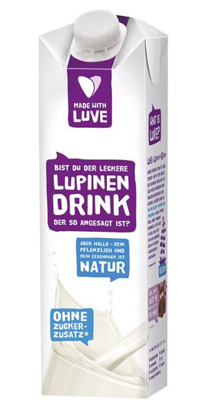 Veganer Drink aus Lupine