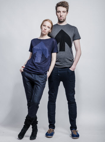 Upcycling Kleidung des Labels Reet Aus