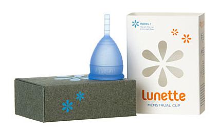 Menstruationstasse von Lunette