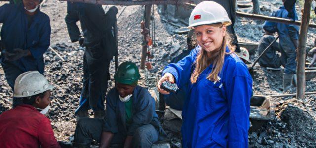 Konfliktrohstoff Wolfram aus einer Mine in Ruanda