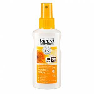 Lavera Sun Sonnenspray LSF 20 – Sonnenschutzmittel Test
