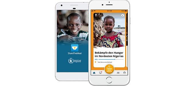 App ShareTheMeal des UN-Welternährungsprogramms