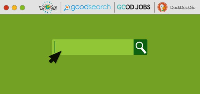 Alternative Suchmaschinen: Utopia, Ecosia, Goodjobs, goodsearch, DuckDuckGo