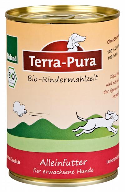 Bioland zertifiziertes Tierfutter von Terra Pura