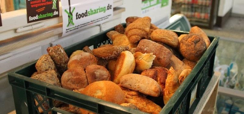 gerettete Brötchen foodsharing