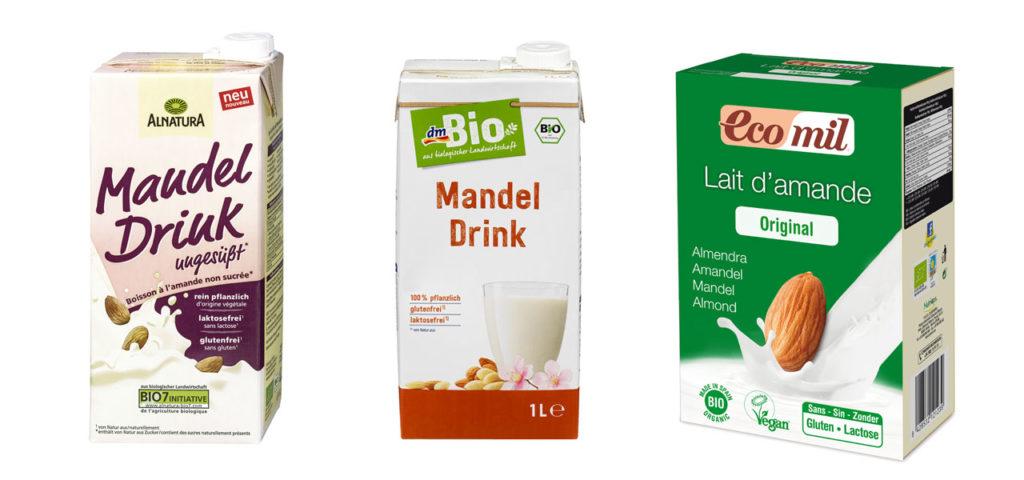 Mandelmilch Mandeldrink Alnatura dm EcoMil