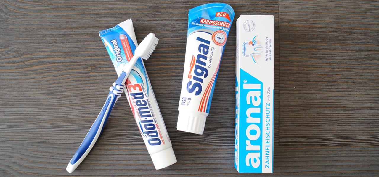 Zahnpasta im Test (Öko-Test)