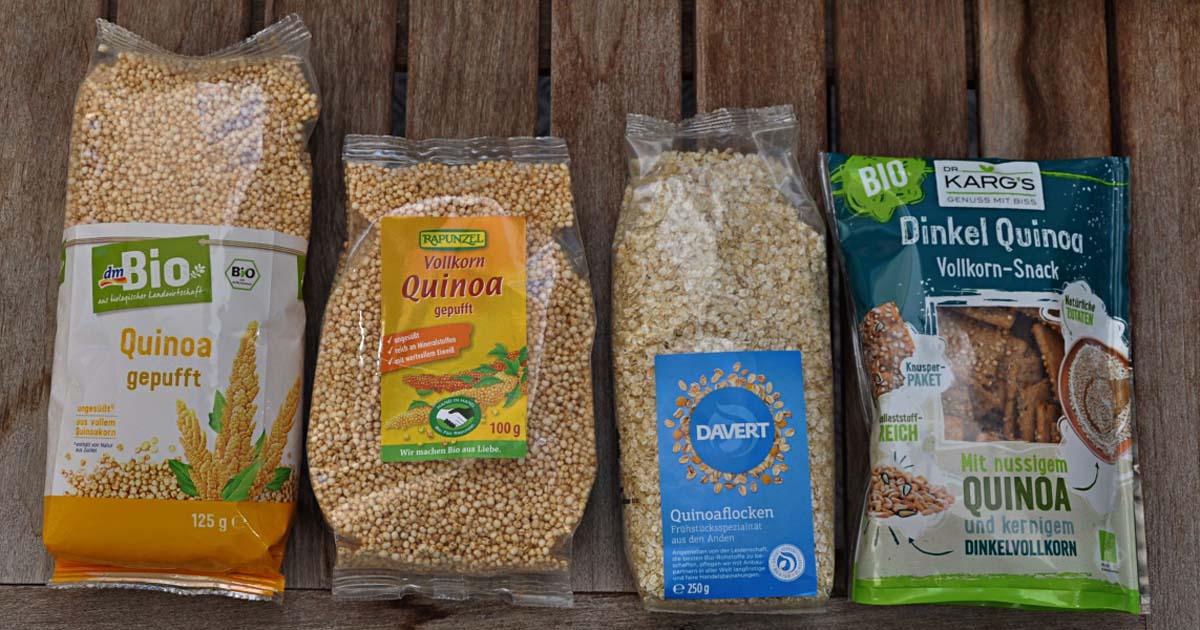 wird rohes Quinoa schlecht gehen