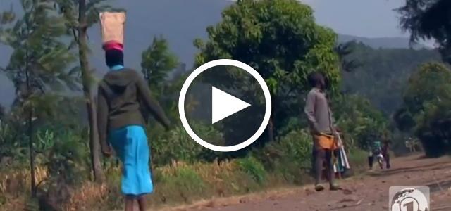 Ruanda Plastiktüten
