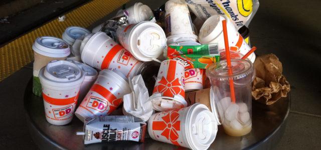 San Francisco verbietet Take Away Boxen und Coffe To Go Becher aus Stryropor