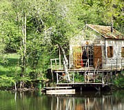 Tiny Houses mieten: Fisherman's Cabin Frankreich