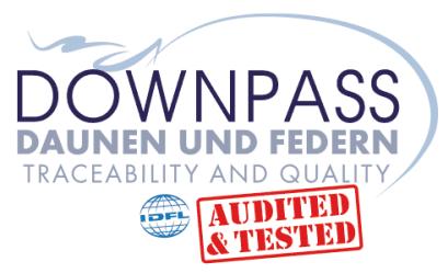 Downpass: Daunen-Zertifizierung