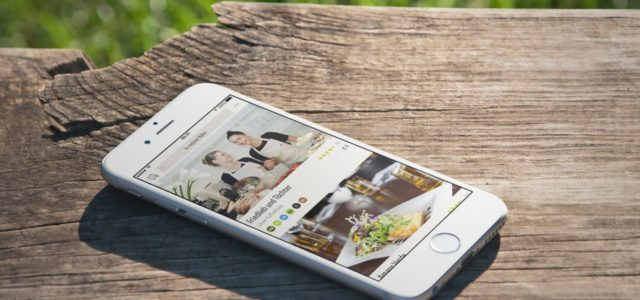 Vegane und vegetarische Restaurants per App finden, vanilla bean