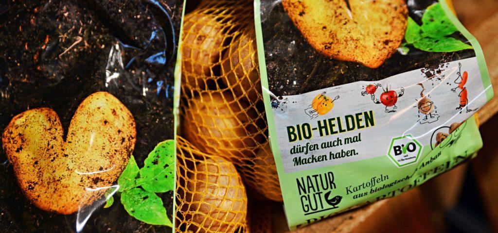 Bio-Helden: da dürfen die Kartoffeln auch mal Macken haben