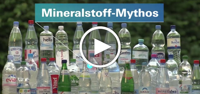 Leitungswasser gesünder MIneralwasser