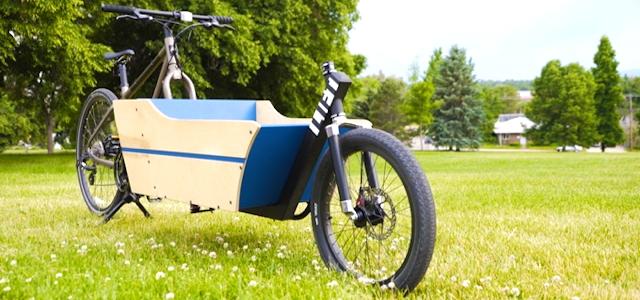 Das günstige Lift Lastenrad zum anmontieren.