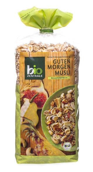 Gesundes Müsli: Früchtemüsli von Biozentrale