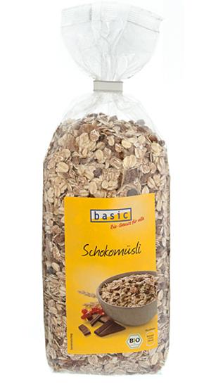 Gesundes Müsli: Schokomüsli von Basic