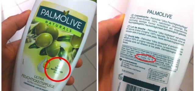 Greenwashing Beispiele: Palmolive Naturals
