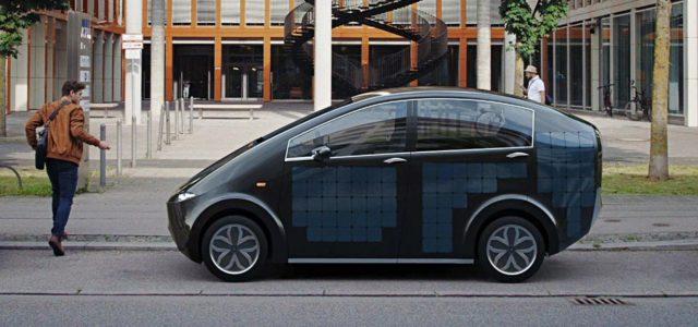 Solarauto Sono Motors Sion Elektroauto
