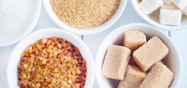 Zucker, brauner Zucker, Würfelzucker, Süßstoff