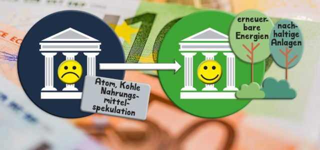 Bank wechseln, Bankenwechsel, grüne Bank, Öko-Bank, Bank, FInanzen