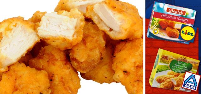 Chicken Nuggets bei Aldi, Lidl, Rewe, Edeka aus Sklavenarbeit