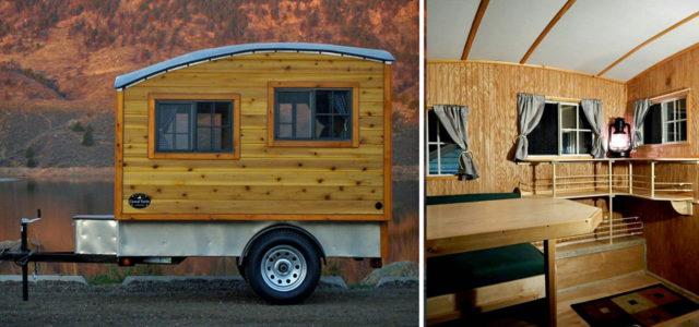 Terrapin: Holzwohnwagen für Minimalisten