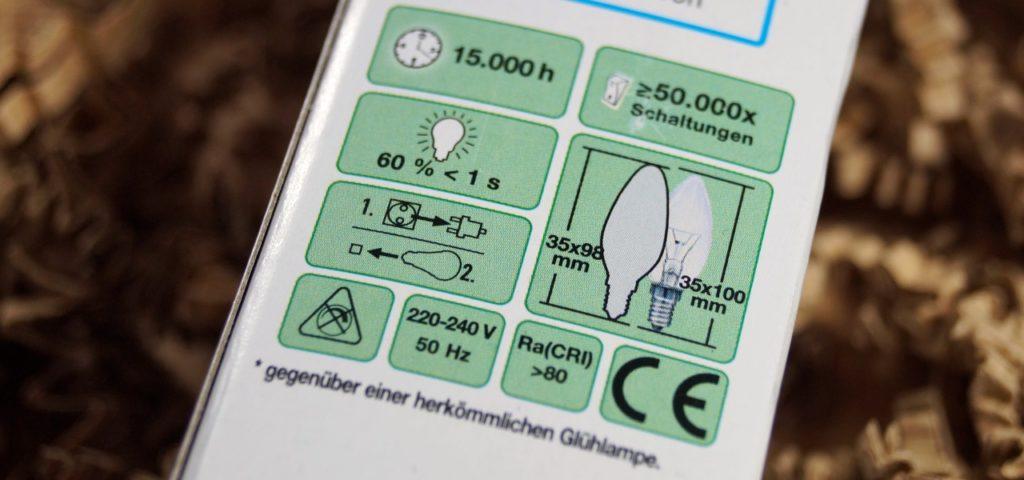 Eine LED-Lampe hat viele Eckdaten, nicht alle sind wichtig
