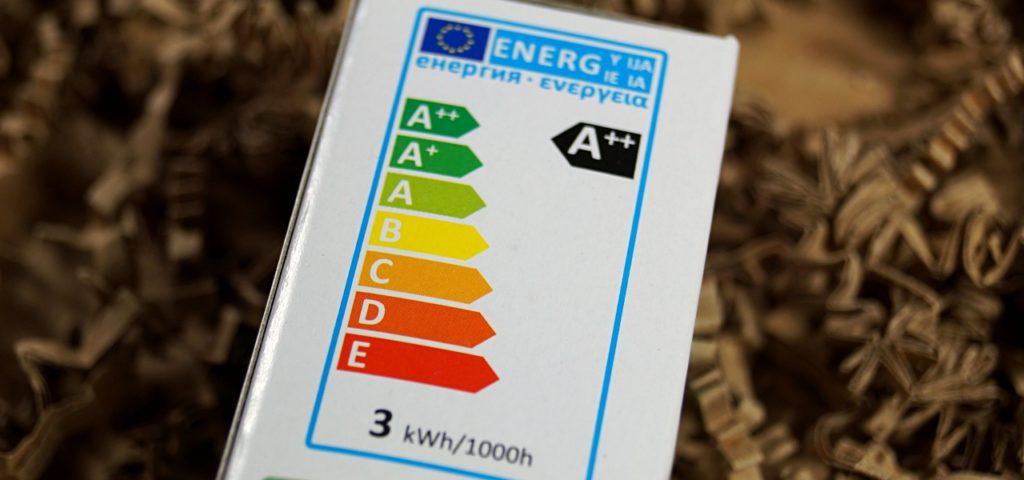 Energieeffizienzangabe bei LED-Lampen