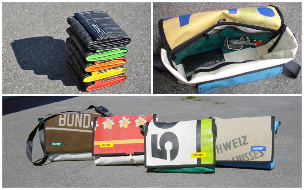Upcycling Produkte aus Müll: Produkte von kultbag