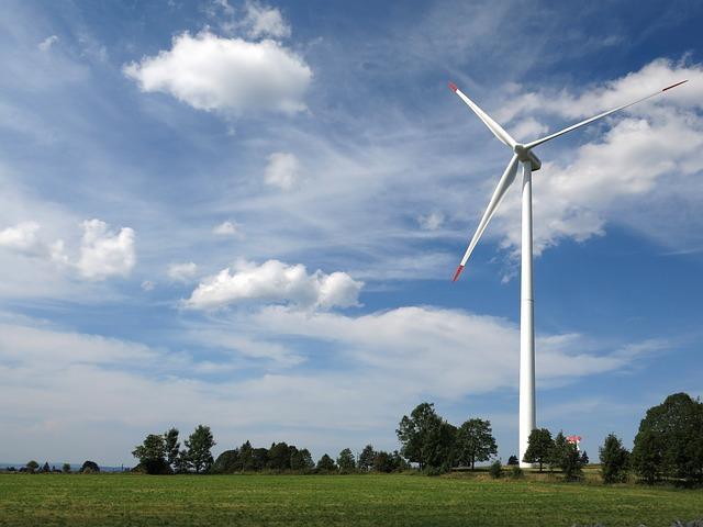 Windenergie –oft ein Symbol für Nachhaltigkeit bei der Energiegewinnung