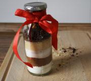 Geschenke selber machen: Backmischung im Glas